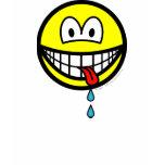 Drooling smile   womens_apparel_tshirt