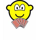 Card playing buddy icon   womens_apparel_tshirt