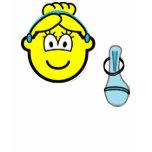 Cinderella buddy icon slipper  womens_apparel_tshirt