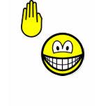 High five smile   womens_apparel_tshirt