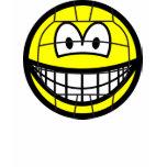 Volleyball smile   womens_apparel_tshirt