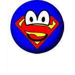 Superman emoticon Logo  womens_apparel_tshirt