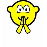 Praying buddy icon   womens_apparel_tshirt