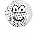 Golfball emoticon   womens_apparel_tshirt