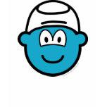 Smurf buddy icon   womens_apparel_tshirt