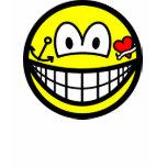 Tattoo smile   womens_apparel_tshirt