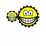 Cogwheels smilies   womens_apparel_tshirt