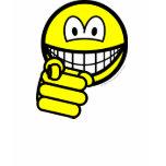 Pointing smile   womens_apparel_tshirt