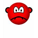 Sad red smile   womens_apparel_tshirt