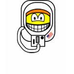 Astronaut smile   womens_apparel_tshirt