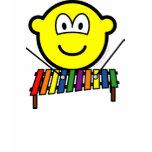 Xylophone buddy icon   womens_apparel_tshirt