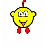 Chicken buddy icon   womens_apparel_tshirt