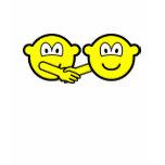 Hands shaking buddy icons   womens_apparel_tshirt