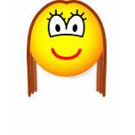 Brunette emoticon   womens_apparel_tshirt