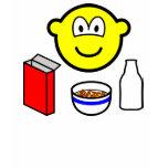 Breakfast buddy icon cereal  womens_apparel_tshirt