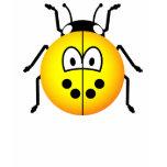 Lieveheersbeestje emoticon geel  womens_apparel_tshirt