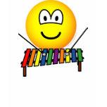 Xylophone emoticon   womens_apparel_tshirt