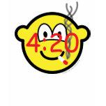 Stoner 4:20 buddy icon   womens_apparel_tshirt