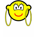 Big hoop earrings buddy icon   womens_apparel_tshirt