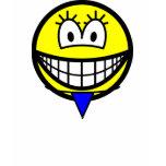 Thong smile   womens_apparel_tshirt
