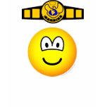 Boxing champion emoticon   womens_apparel_tshirt