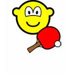 Table tennis playing buddy icon ping pong  womens_apparel_tshirt