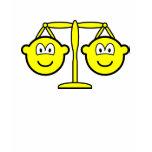 Libra buddy icon Zodiac sign  womens_apparel_tshirt