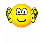 Ears emoticon Big  womens_apparel_tshirt