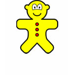 Gingerbread buddy icon   womens_apparel_tshirt