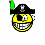Pirate with parrot smile   womens_apparel_tshirt