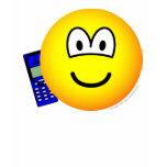 Mobile phoning emoticon   womens_apparel_tshirt