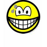 Pierced smile   womens_apparel_tshirt