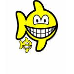 Pisces smile Zodiac sign  womens_apparel_tshirt
