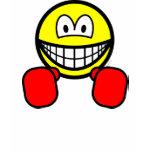 Boxing smile   womens_apparel_tshirt