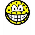 Polka dotted smile   womens_apparel_tshirt
