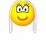 White haired emoticon   womens_apparel_tshirt