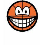 Basketball smile   womens_apparel_tshirt