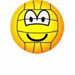 Volleyball emoticon   womens_apparel_tshirt