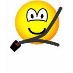 Seat belt emoticon   womens_apparel_tshirt