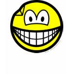 Dented smile   womens_apparel_tshirt