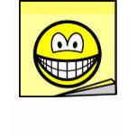 Post-it note smile   womens_apparel_tshirt