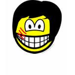 Bruce Lee smile   womens_apparel_tshirt