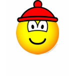 Bobble hat emoticon   womens_apparel_tshirt
