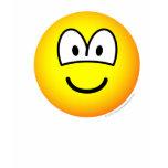 Big eyed emoticon   womens_apparel_tshirt