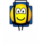 Backpacker emoticon   womens_apparel_tshirt