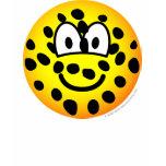 Cheetah emoticon   womens_apparel_tshirt