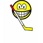 Ice hockey smile   womens_apparel_tshirt