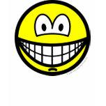 Chin dimple smile   womens_apparel_tshirt