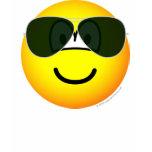 Aviators emoticon Sunglasses   womens_apparel_tshirt