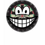 Dartboard smile   womens_apparel_tshirt